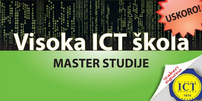 Висока ICT школа у сусрет Мастер струковним студијама
