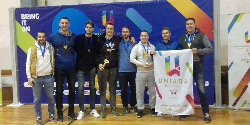 Наши кошаркаши освојили злато на Униади 2018.