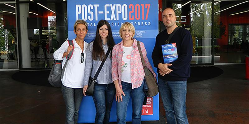 Наши наставници посетили POST–EXPO 2017