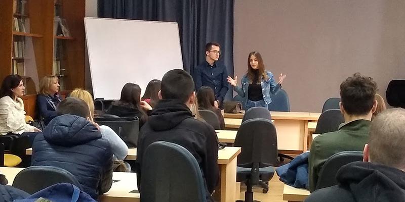 Презентација Високе ICT школе у Средњој техничкој ПТТ школи