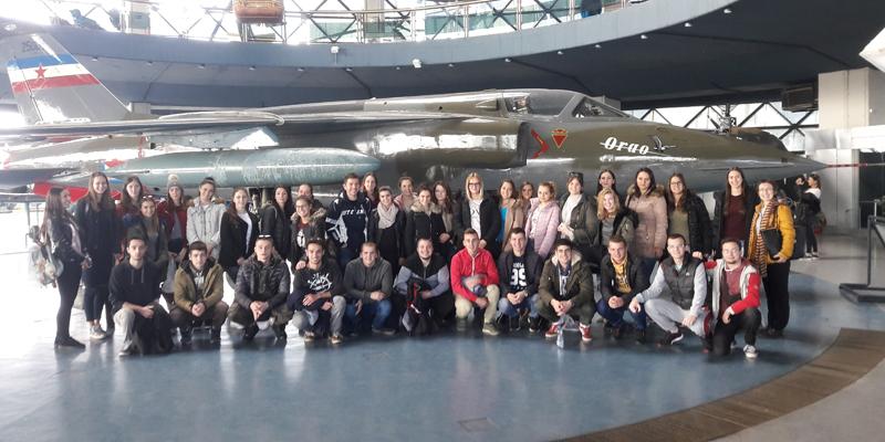 У посети Музеју ваздухопловства