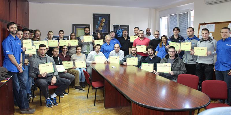 Четврта генерација студената у првој Микротик академији у Србији