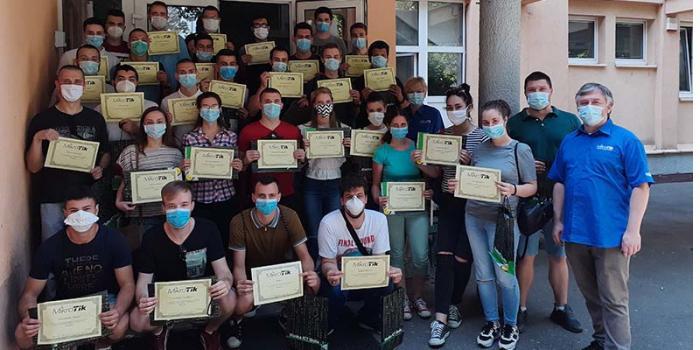 Шеста генерација студената у првој Микротик академији у Србији