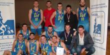 Кошаркашка екипа наше школе победник Универзитетске лиге Београда